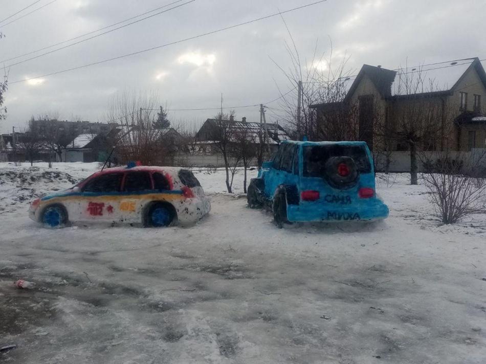 Снежные машины / фото: Константин Двоенко