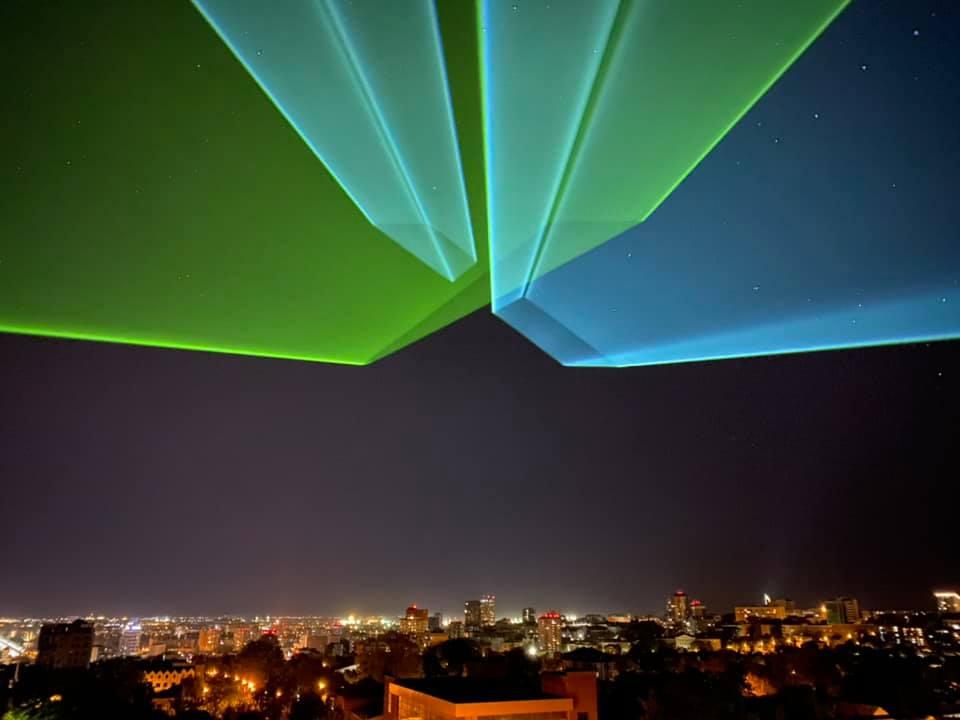 Над городом появятся необычные фигуры / фото: Fb Nikolay Kabluka