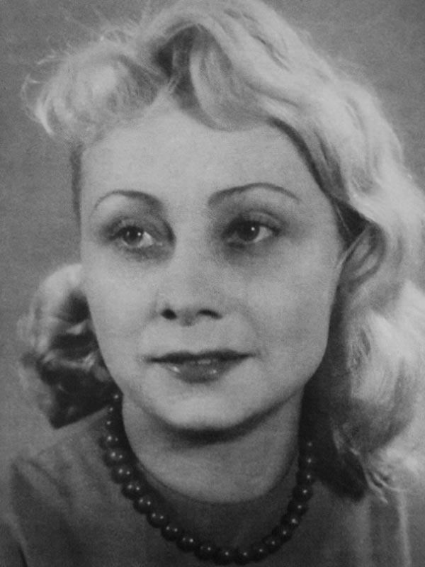 Людмила Вершинина в молодости. Фото: Википедия
