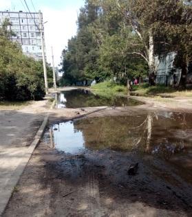 Состояние района сейчас/ фото: petition.e-dem.ua
