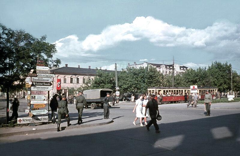 Трамвай в Днепропетровске/ фото: visualhistory.livejournal.com