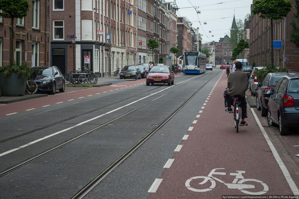 Велодорожка в Амстердаме/ фото: mykharkov.info