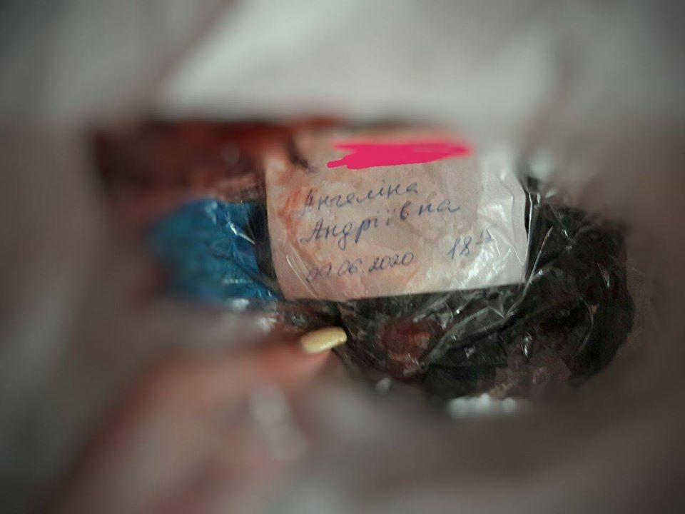 Труп малыша отдали матери в мусорном пакете / фото из поста Ангелины