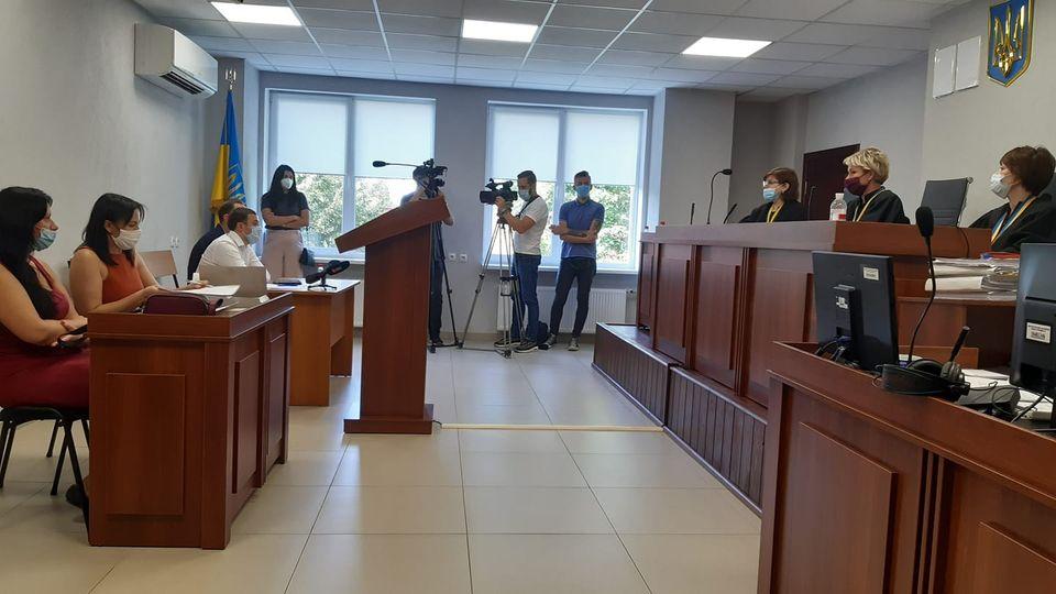 Суд по отмене платных парковок / фото: fb Александр Куприенко