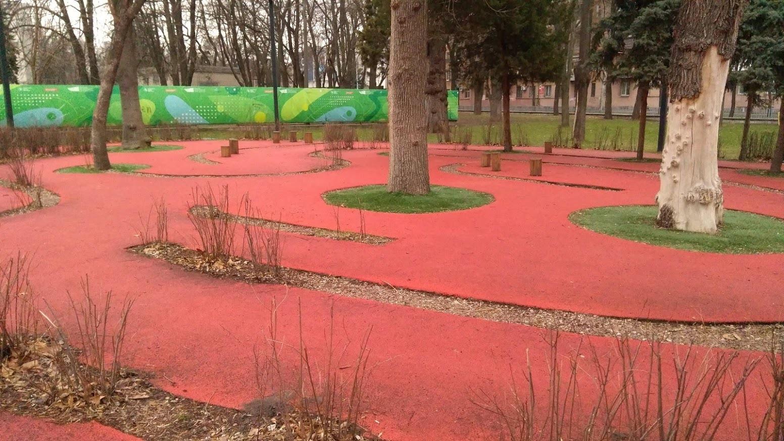 Вандалы уничтожили первый в Украине инклюзивный парк, который находится в Днепре. Афиша Днепра