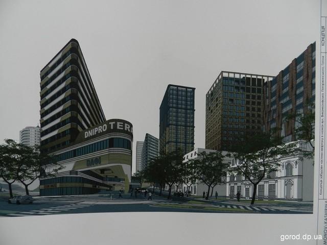 Архитекторы представили проект застройки - фото: gorod.dp.ua