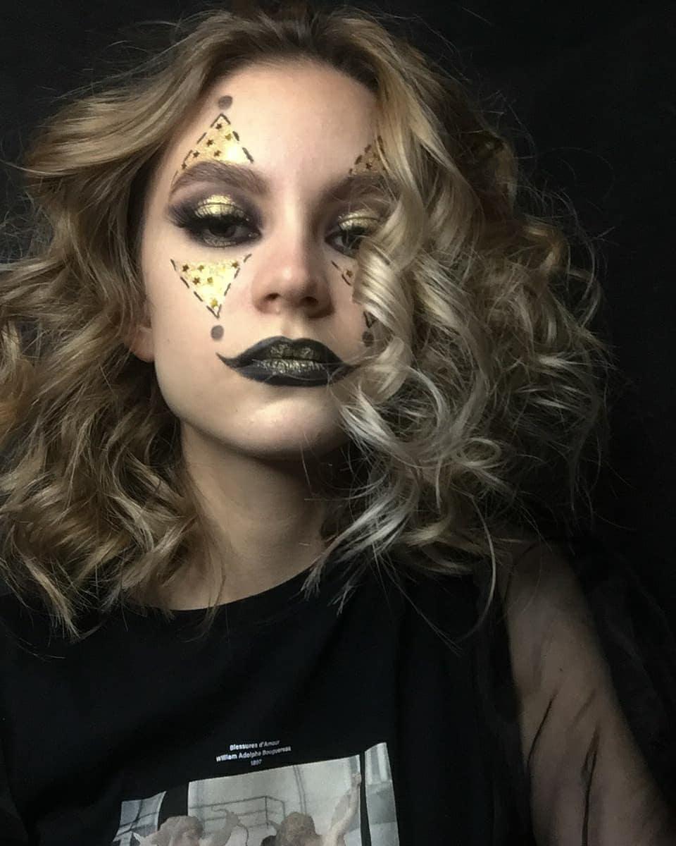 Праздничный макияж / фото: ya_andreeva17