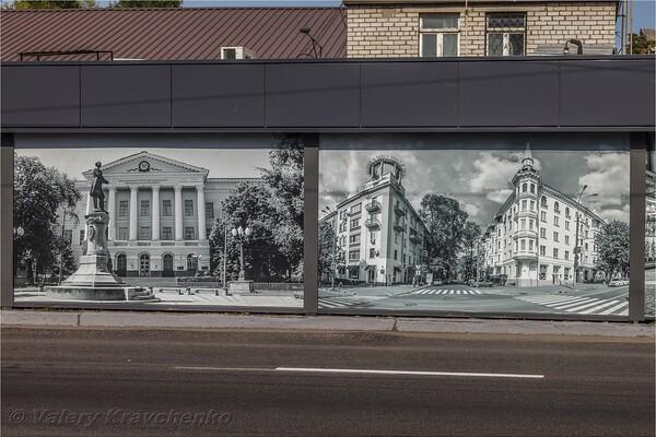 Полюбуйся: на Калиновой патриотично украсили фасады ларьков (фото) фото 1