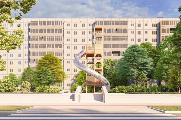 Ух-ты: на левом берегу появится современный сквер фото