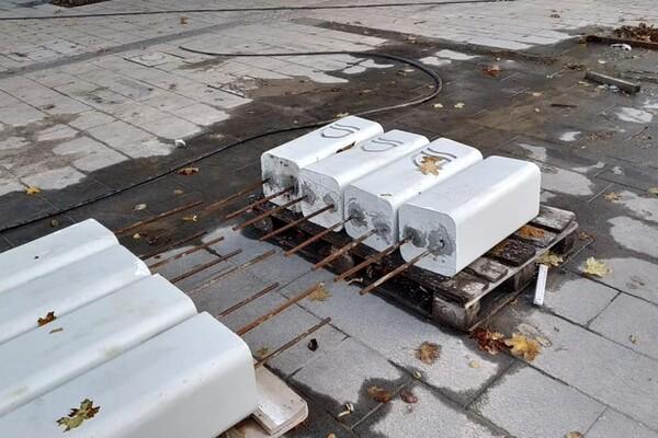 Уличная мебель и декоративные растения: как продвигается ремонт улицы Яворницкого фото 3