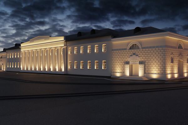 Засияем: здание бывшей суконной фабрики хотят подсветить фото